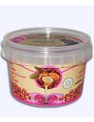 Savon noir à la Rose et à l'huile d'Argan - 250GR - Essentiel hammam Marocain
