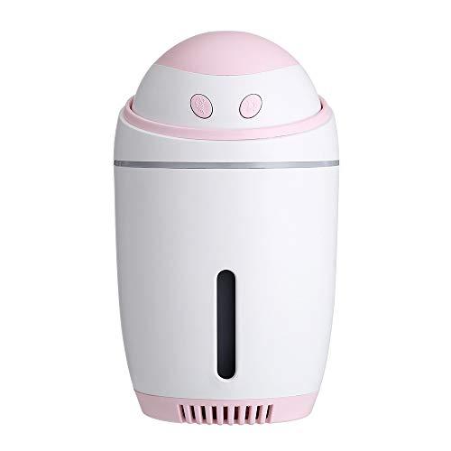 Dtuta LuftbefeuchtungsgeräT,Luftbefeuchter Baby Schlafzimmer,Roboter-Nachtlichtventilator Kompakt Tragbar Einfach Zu Legen Spielzeug-Geschenkdekoration FüR Kinder