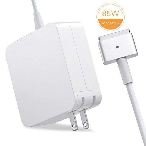 "TechDot MacBook Pro Ladekabel 85W MagSafe 2 T Form MacBook Pro Ladegerät Power Adapter Netzteil kompatibel mit Apple 15\"" Zoll MacBook Pro mit Retina Display (2012 2013 2014 2015 A1398 A1424 usw)"