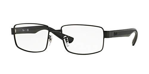 Eyeglasses Ray Ban 6319 Noir à angle droit
