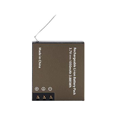 LouiseEvel215 Litauische Batterie 1050mAh PG1050 für die Serie EKEN 4 * 4 * 1.3 cm Wiederaufladbare Litauische Batterie 3.7V Negro (Camaras Para Exteriores)