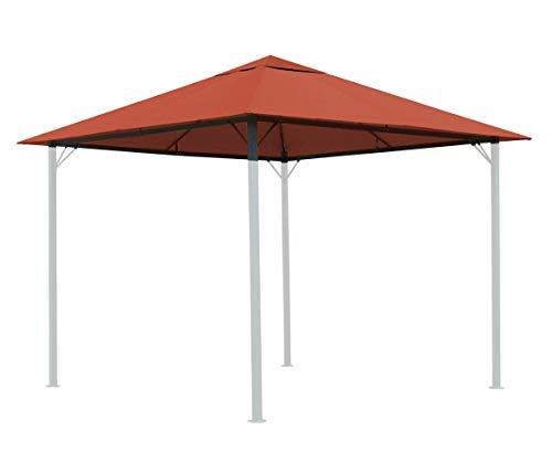 QUICK STAR Ersatzdach für Garten Pavillon 3x3m Terra Antik Pavillondach Ersatzbezug