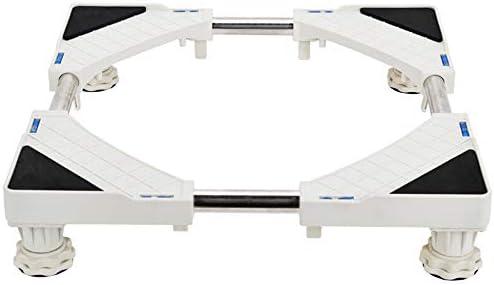 LBLWXH LBLWXH LBLWXH Base Speciale Multifunzione Rulli per Elettrodomestici Carrello Regolabile per Lavatrice Asciugatrice E Frigorifero Portabottiglie,4(Fixed-Foot) | Facile Da Pulire Surface  | vendita di liquidazione  | Facile da usare  a1d016