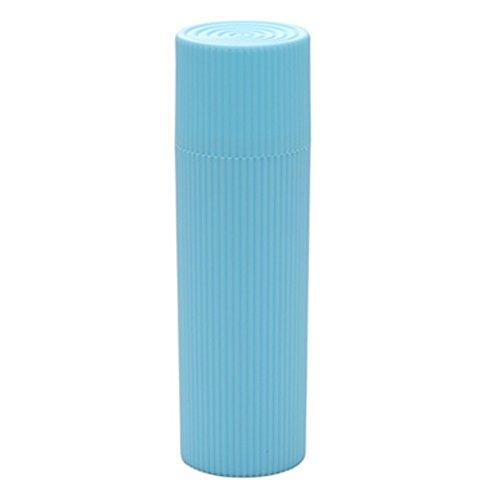 accessoires de voyage porte de dentifrice de cas de brosse à dents, Bleu