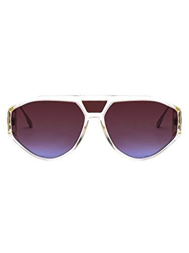 Dior Damen Diorclan140gyb Weiss Acetat Sonnenbrille