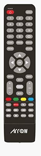 جهاز تحكم عن بعد لجميع اجهزة التلفزيون الليد من اركو