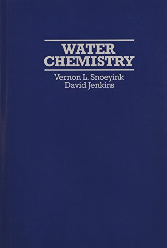 Water Chemistry (Spe Monographs)
