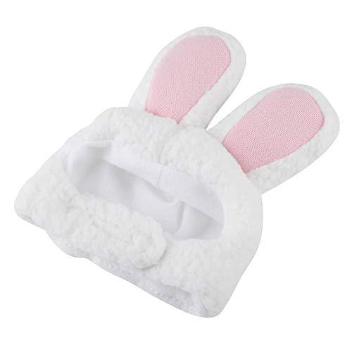 Flauschige Kostüm - Zetiling Katze Hut Kostüm Niedlich Kaninchen Ohren Hut für Katze, bequemes Flauschiges Kostüm Dekoration Zubehör Ideale Wahl