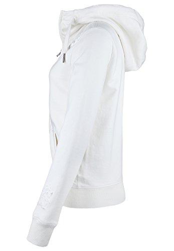 True Religion Veste Veste Sweat zippé à capuche pour femme Destroy été, hiver Blanc - Milky White