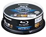 Panasonic LM-BRS2MWE25 Blu-Ray 6x Speed, 25GB, 25er-Spindel