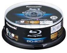 Preisvergleich Produktbild 1x25 Panasonic LM-BRS2MWE25 Blu-Ray 6x Speed, 25GB printable