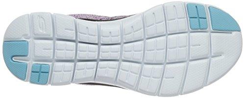 Skechers Damen Flex Appeal 2.0 High Energy Sneaker lila (LAV)