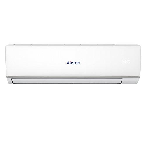 Airton Climatiseur réversible prêt à poser 5100W 18000 BTU pré-chargé en gaz (PAC...