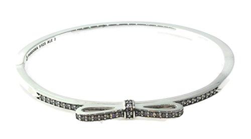 molto carino fa706 7007a Pandora argento braccialetto da donna fiocco 590536 CZ ...