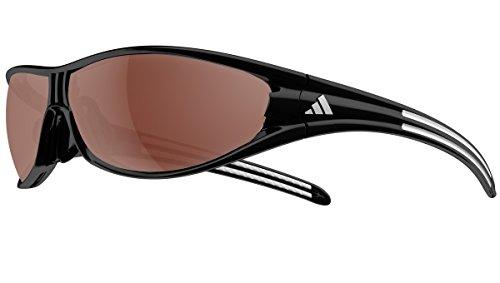 Adidas eyewear evil eye occhiali da sole, nero, taglia unica