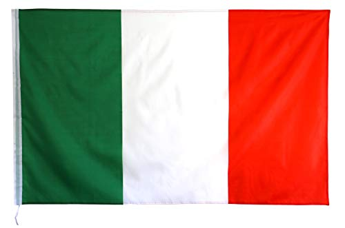 Star Cluster 90 x 150 cm Italien Poly Banner Flagge/Italien Fahne/Fanartikel/Italy National Flag/Bandiera nazionale dell'Italia (IT 90 x 150 cm) - Poly Flag Banner