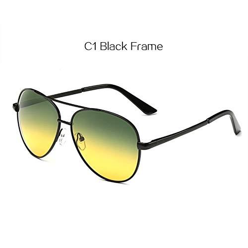 2THTHT2 Polarisierte Sonnenbrille Männer Tag Nachtsicht Brillen Fahren Frauen
