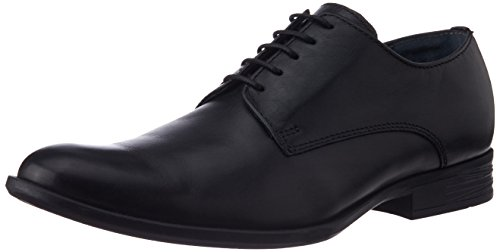 Hush Puppies Men's Pl58 Black Leather Formal Shoes - 6 UK (8246613)