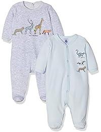 Petit Bateau Lot Trema, Camiseta de Pijama para Bebés, (Variante 2 99)