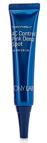 Tony Moly - AC Control Pink Deep Spot - Anti Pickel Serum - Anti Mitesser Creme - Gesichtspflege