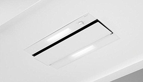 Nowy 874Dunstabzugshaube 470M³/h transparent, weiß