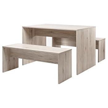 Tischgruppe Set 120 - Küchentisch (verschiedene Farben) Bänke ...