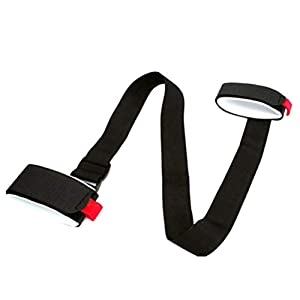 Togames-DE Skistock Schulter Handhalterung Verstellbarer Haltegurt Haken Schleife Schützen