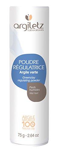 Argiletz Poudre Régulatrice Transpiration Pieds 75 g