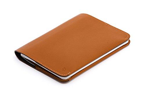 Cartera de Piel Bellroy para Hombre Notebook Cover Mini, Caramel