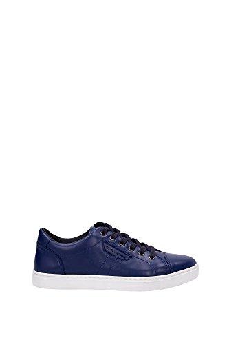 Sneakers Dolce&Gabbana Homme Cuir Bleu CS1326A344480669 Bleu 40EU