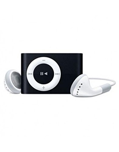 Erry Metal series MP3 PLAYER WITH EAR PHONES - Black with Earphone