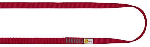 ALIENS Bandschlinge Open Sling (Bruchlast 22 kN/2200kg, 16 mm Breite) Verschiedene Längen in unterschiedlichen Farben, Farbe:120 cm rot