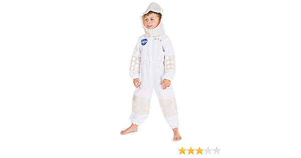 Space Boy Astronaut Fancy Dress Costume Spacesuit 3 Sizes