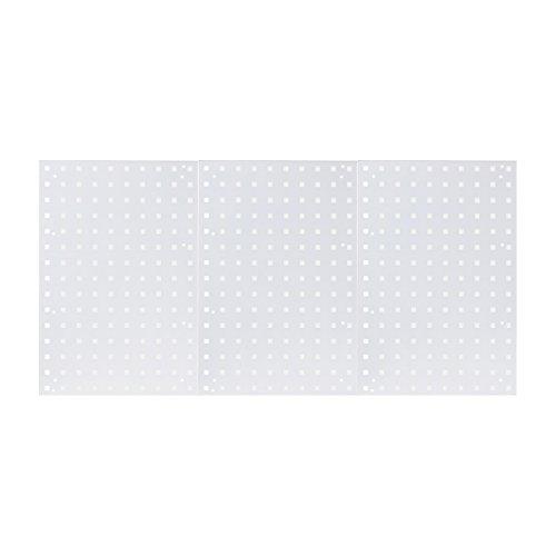 XL Lochblech Grau Lochwand Schlüssellochung Werkzeugwand Werkstattwand Metallwand