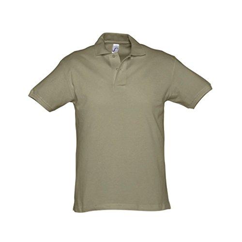 SOLS Herren Spirit Pique Polo-Shirt, kurzärmlig Königsblau