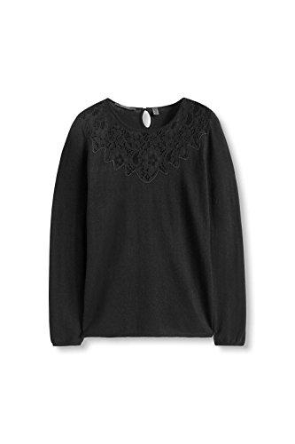 ESPRIT Collection, Pull Femme Noir (Black 001)