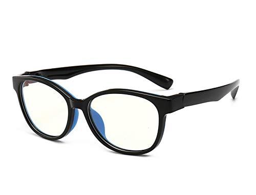 GPZFLGYN Anti-Blau Computer Gläser Anti-Fatigue Ultraleichte Computerschutzbrille Kinder Anti-Blaulicht Brillengestell Kids Spectacle Flexible Soft Eyeglasses
