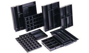 BISLEY MultiDrawer Schreibwareneinsatz A3 Schubladen H 87, 51 mm, Metall, 800 Kunststoff, 42.5 x 31 x 8.3000000000000007 cm