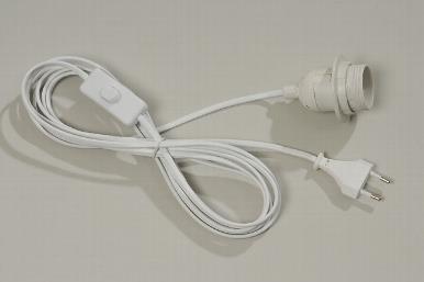 Kabel u. Fassung max.40W E27 / große