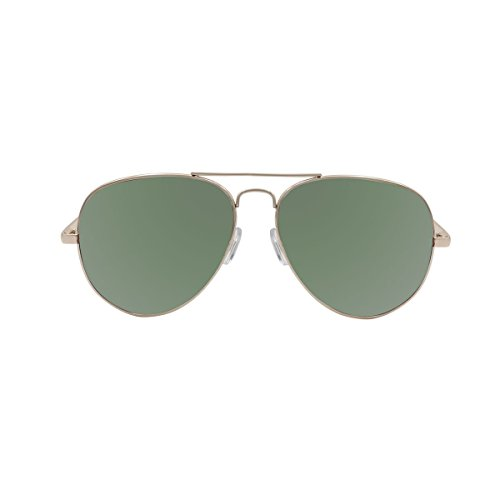 OCEAN SUNGLASSES - Banila aviator - lunettes de soleil en MÃBlackrolltal - Monture : DorÃBlackroll - Verres : Vert (18110.1)
