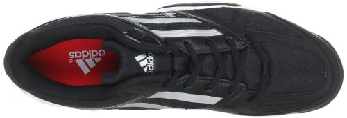 adidas Performance  Opticourt Ligra 2,  Scarpe sportive indoor uomo nero (Schwarz (Black 1 / Metallic Silver / Running White Ftw))