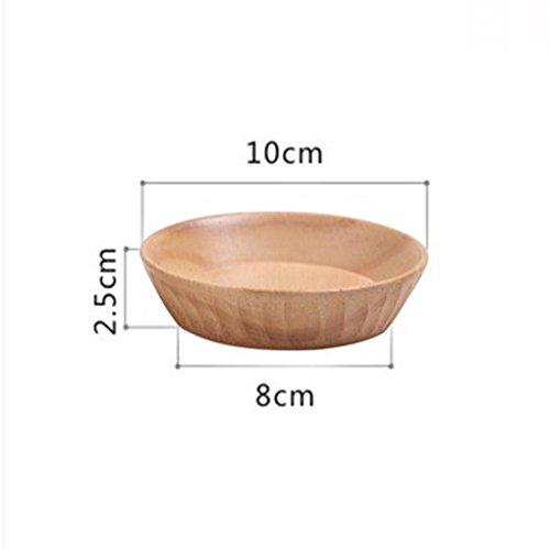 MZP Tapas creative in legno Piattino tazza mini-ciotola piatto piatto