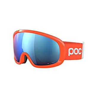 POC Fovea Mid Clarity Comp, Fluorescent Orange/Spektris Blue, ONE Size