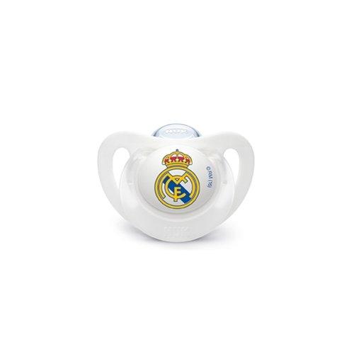 Nuk chupete Real Madrid, 0-6m, silicona, 1un