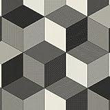 Pavimento in vinile cubi grigio foglio campione * * Only * *