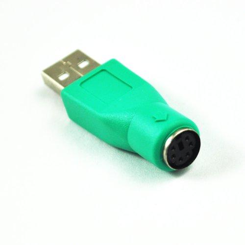 Foto de SODIAL(R) Adaptador PS/2 a USB