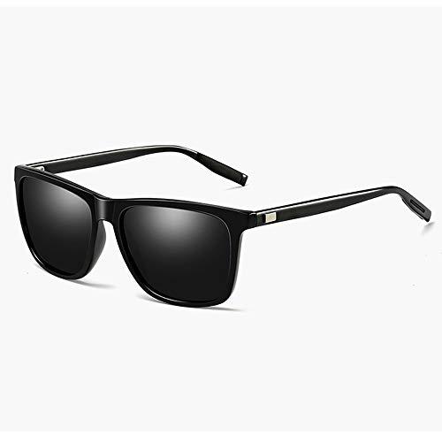 FURUDONGHAI Herren Polarized Sonnenbrille Aluminium Magnesium Schwarz Rahmen Reitbrille Distaff UV400 Schutz besonders geeignet für sommerreisen oder Outdoor s (Farbe : Pink)