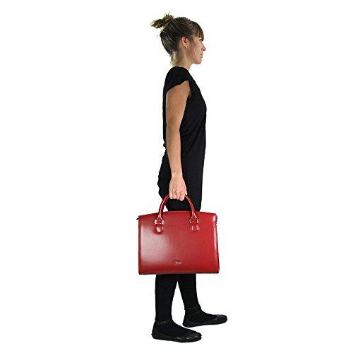 Picard Damen Berlin Shopper, 36 x 30 x 11 cm Weiss
