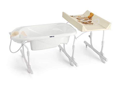 CAM Bade- & Wickelkombination Idro Baby Estraibile ❤ sicher & praktisch | Design made in Italy | Wickelkombination Babywanne