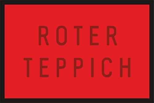 Türmatte Schmutzfangmatte für den stilvollen Auftritt: Roter Teppich 227 ()